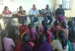 Daniel and Anna Cherian (Directors from Alpha School Society, Cable Nagar, Kota) and their friends interacting with children